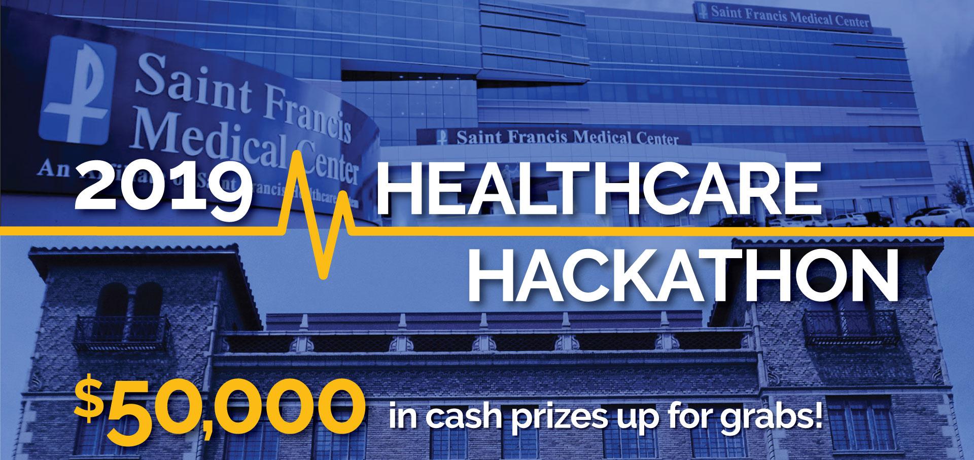2019 Healthcare Hackathon - $50,000 in cash prizes up for grabs!