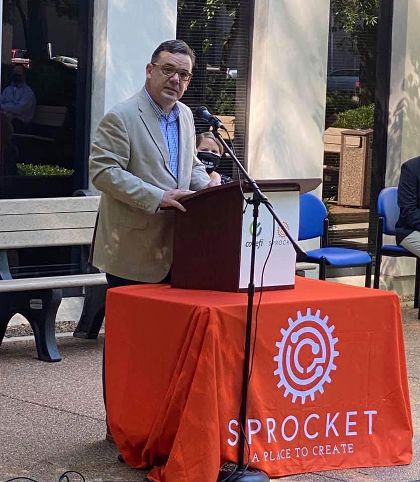 Dr. James Stapleton announces the Codefi expansion
