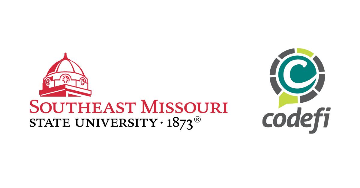 Southeast Missouri State University and Codefi logos